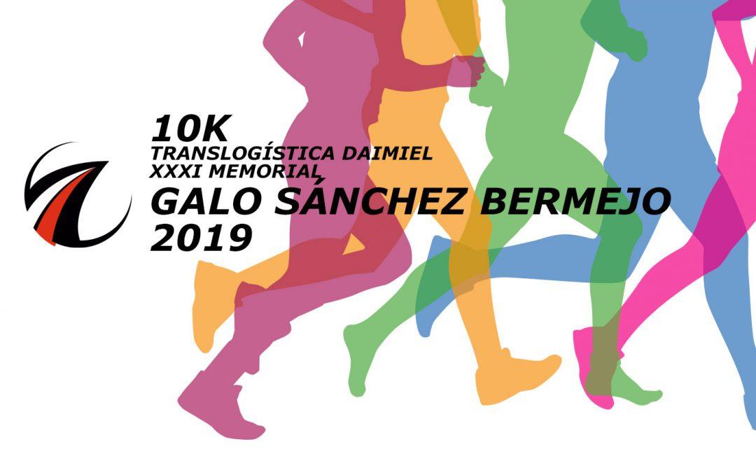 10K TRANSLOGÍSTICA DAIMIEL XXXI MEMORIAL GALO SÁNCHEZ BERMEJO 2019